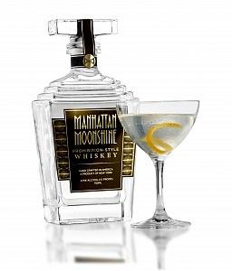 Manhattan Moonshine with White Manhattan