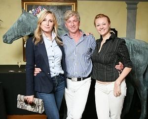 Sonja Morgan, Eric Braverman, Alisa Roever