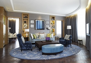 River Suite living room Corinthia Hotel London - Copy