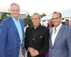 Bill O'Reilly, Michael Bolton, Joe Torre