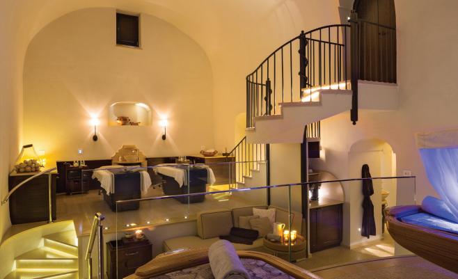 Thermal Suite at the Monastero Santa Rosa Hotel & Spa.