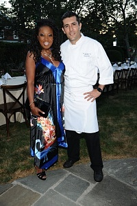 Star Jones, Chef Juan Pablo Loza