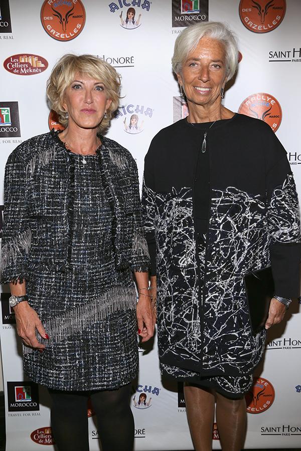 Dominique Serra, Christine Lagarde ©Patrick McMullan