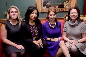 Kristen Kocis, Jeri Powell, Jean Shafiroff, Betsy Timberman