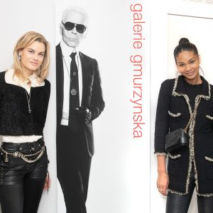 """Social Safari Edited by R. Couri Hay: Galerie Gmurzynska Hosts Opening for """"Karl Lagerfeld: 30 Years of Photography"""""""