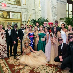 Lizzie da Trindade-Asher Dazzled at Un Ballo in Maschera – Artista e Musa for Young Friends of Save Venice