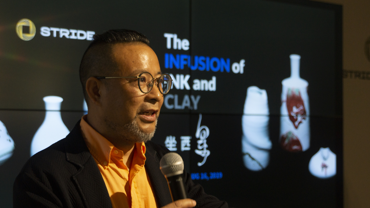 Stride Arts Opens Xiangdong Chen's 'The Infusion of Ink and Clay' Solo Show