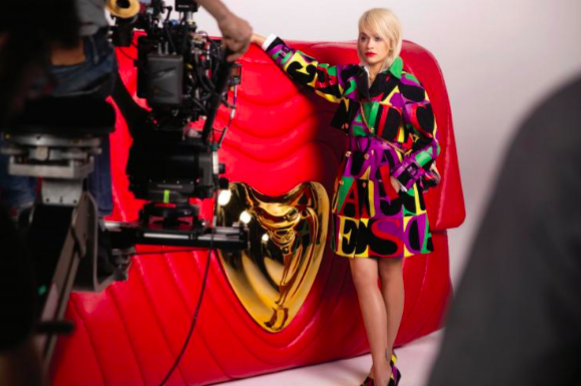 At the heart of ESCADA: Brand ambassador Rita Ora