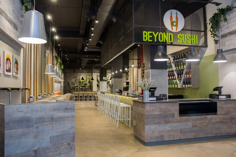 Beyond Sushi's New Fall All-Vegan Menu Goes Far Beyond Sushi