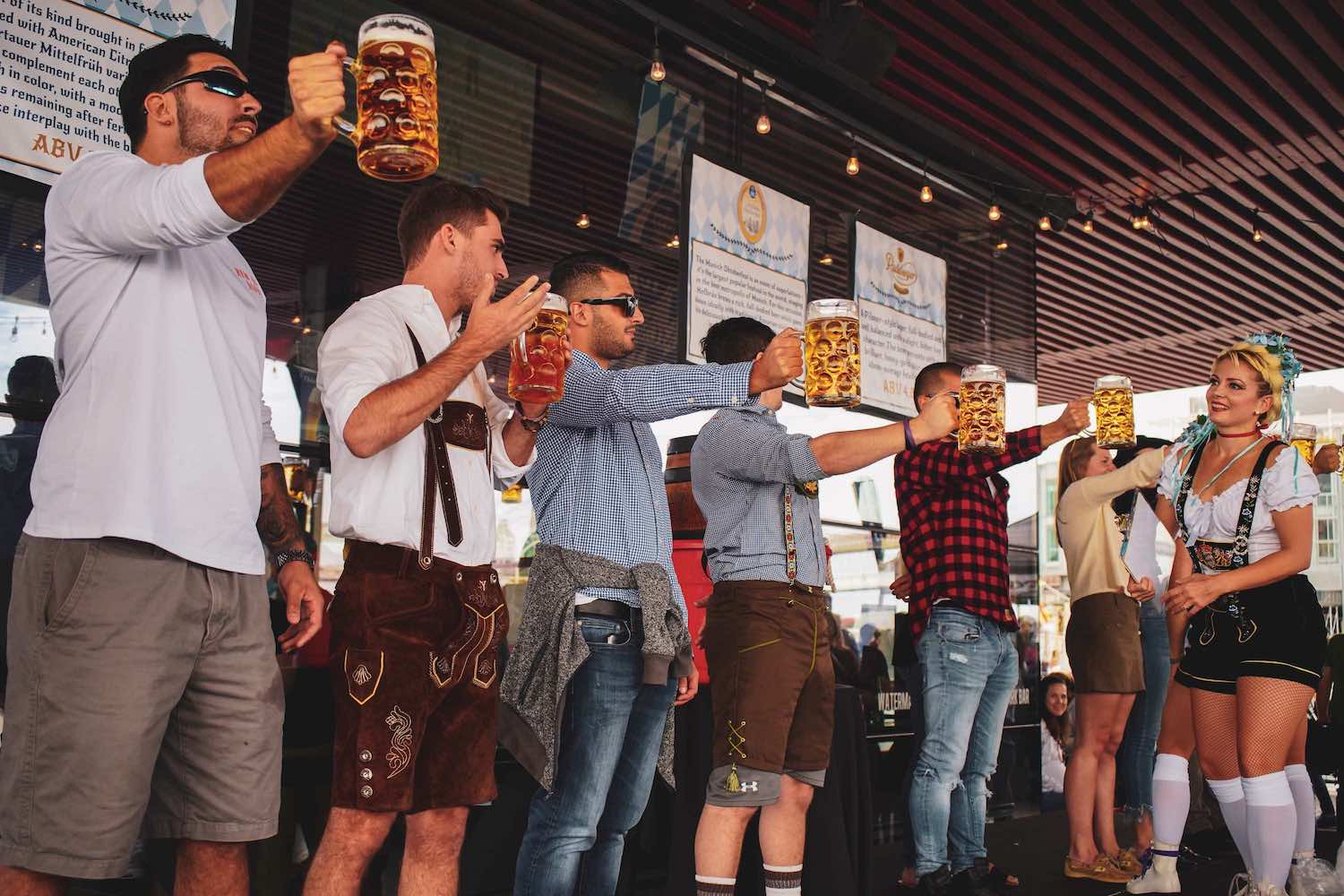 OktoberFest NYC 2019 Kicks off With Ceremonial Keg Tapping by Beer Cicerone, Anne Becerra for Sixth Annual Celebration