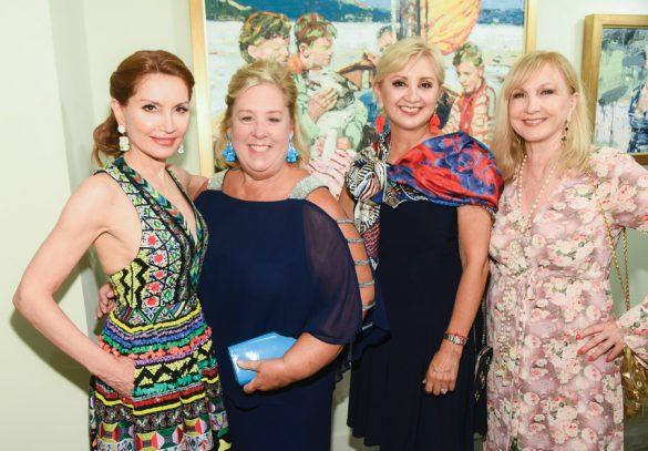Jean Shafiroff, Rebecca Seawright, Ana Stone, Katlean de Monchy